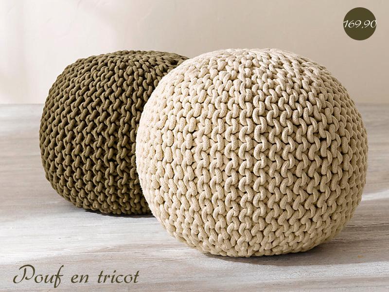 tricoter objet