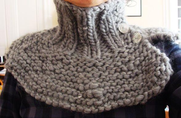 tricoter tour de cou