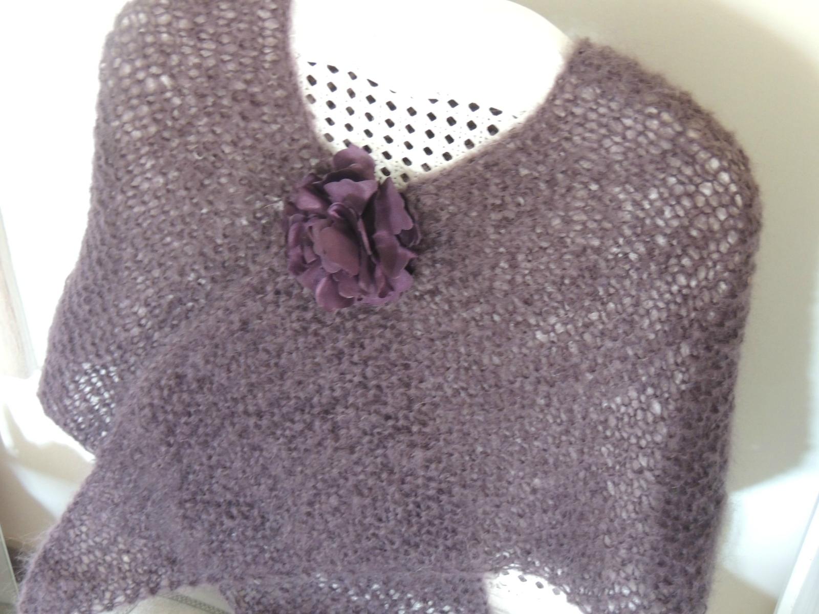 modèle tricot chale