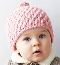 [ALM] Bonnet bébé tricoté Pétillant 3 mois  par tricotmuse