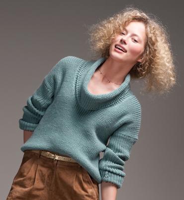 modele tricot pull court femme
