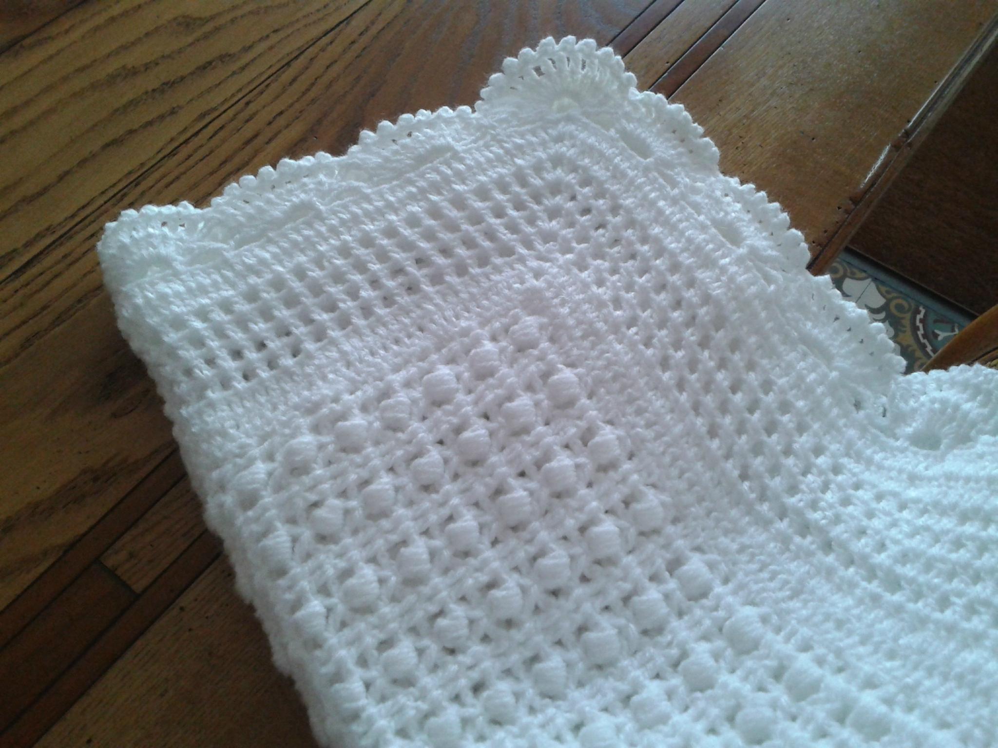modele couverture au tricot gratuit