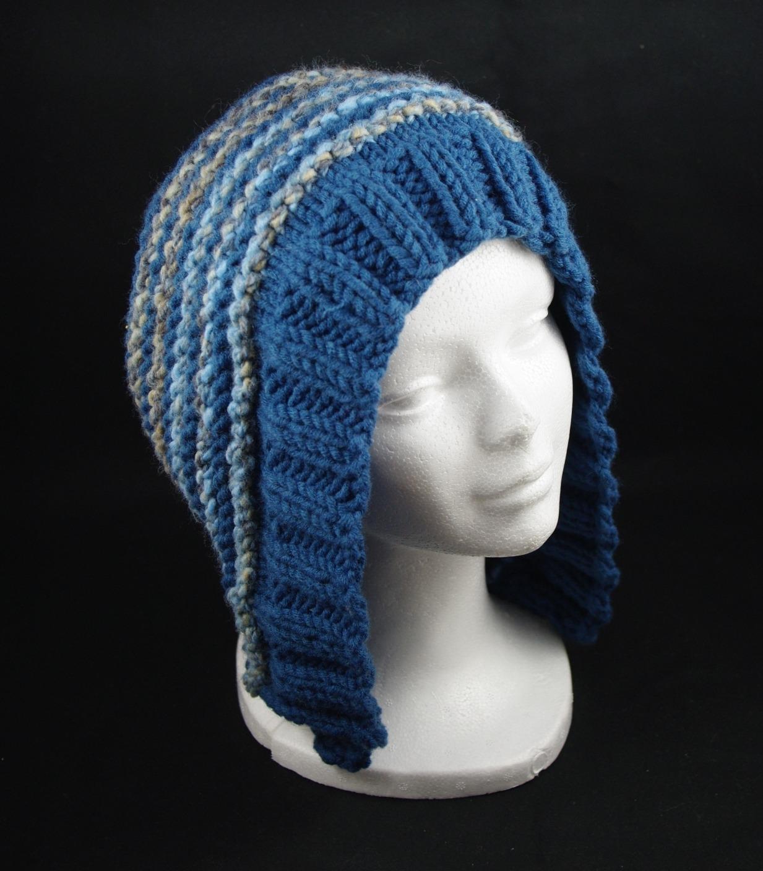 modele tricot bonnet cache oreille