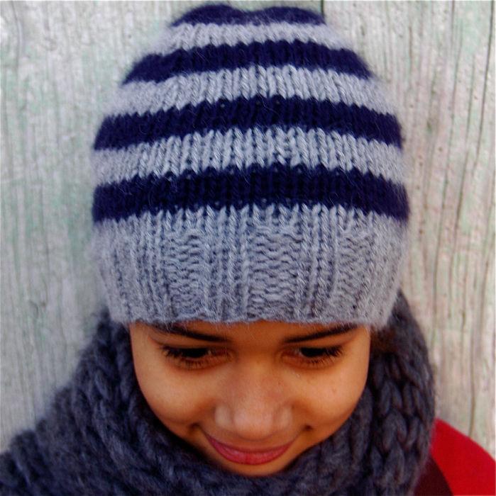 Mod le tricot bonnet fille gratuit - Cote 2 2 tricot ...