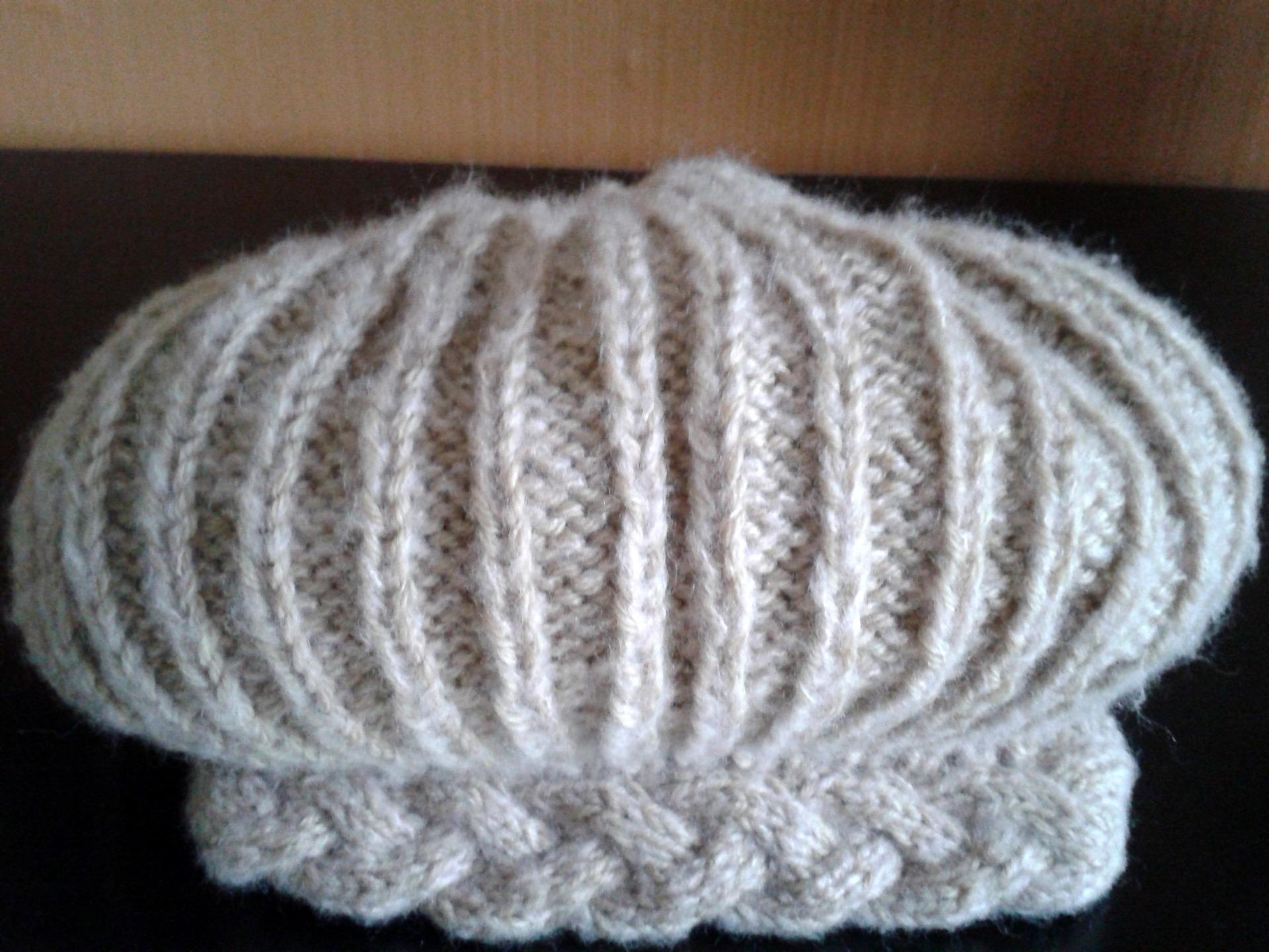 modele bonnet irlandais