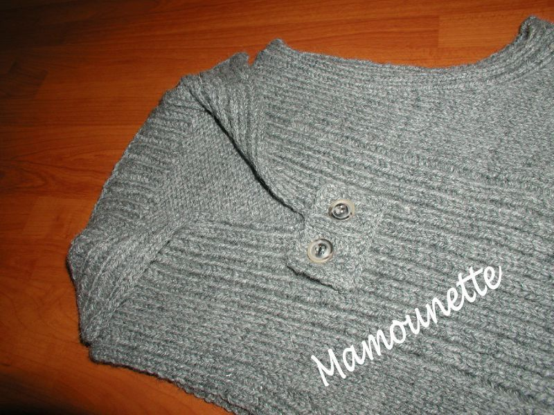 modèle tricot debardeur bébé