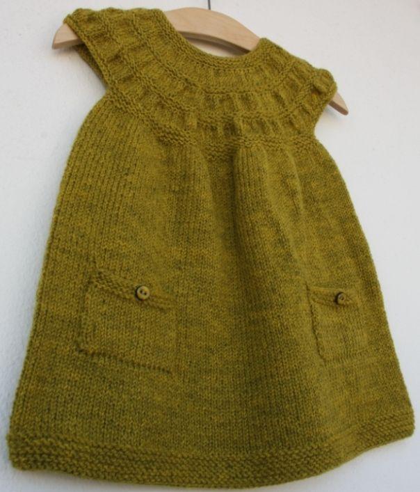 modèle tricot robe 18 mois
