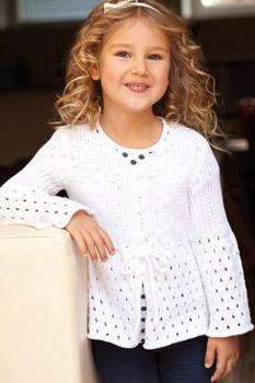 modèle tricot fillette 8 ans