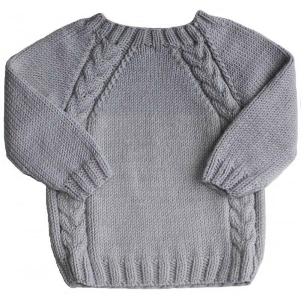 patron tricot fille 7 ans