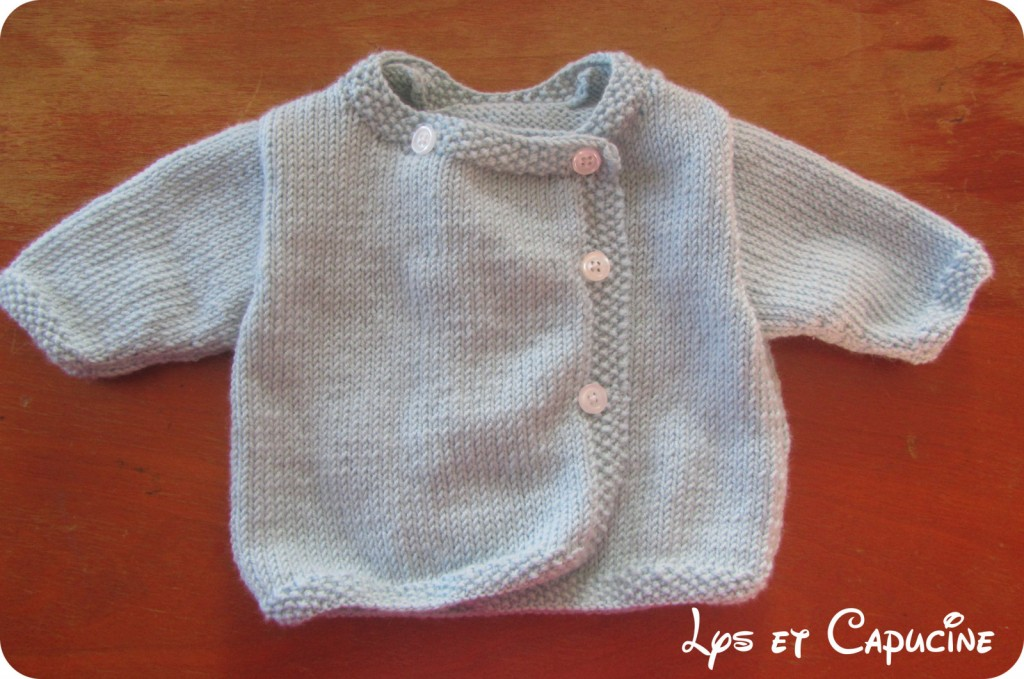 modèle tricot layette mixte