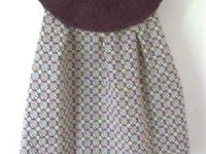 modèle tricot robe 3 ans