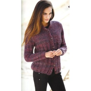 Modele tricot gilet femme bergere de france