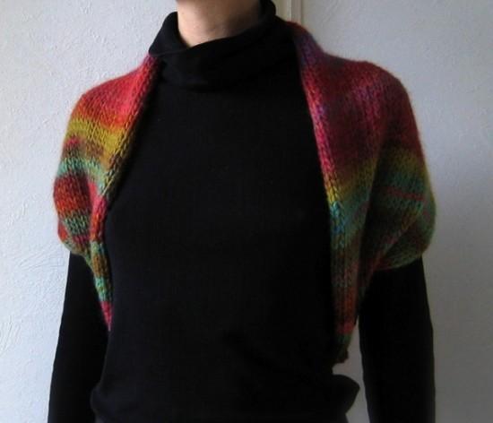 patron tricot bolero