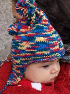 154d95198c0 aide modèle tricot bonnet peruvien bébé gratuit ...