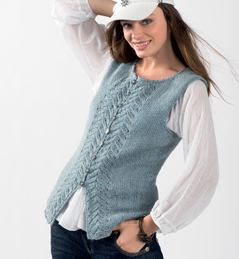 aide mod le tricot pull sans manche femme. Black Bedroom Furniture Sets. Home Design Ideas