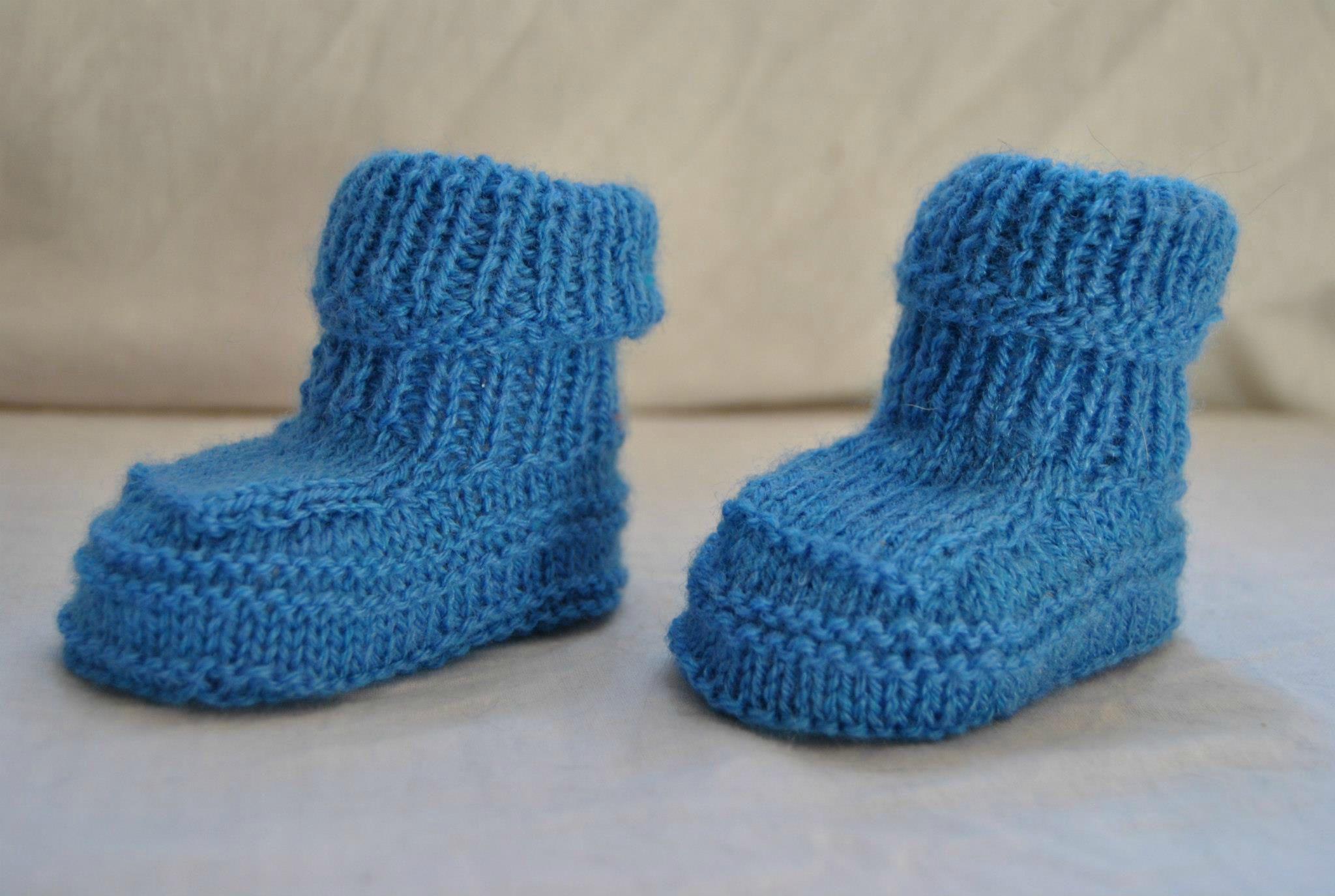 modele tricot pour chaussette