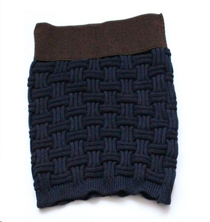 patron tricot jupe