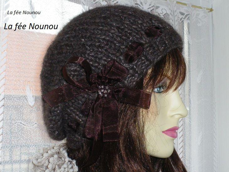 Comment tricoter un bonnet tombant