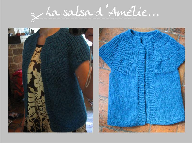 modèle tricot une piece