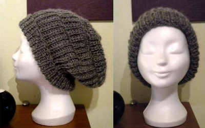 modèle tricot bonnet rasta
