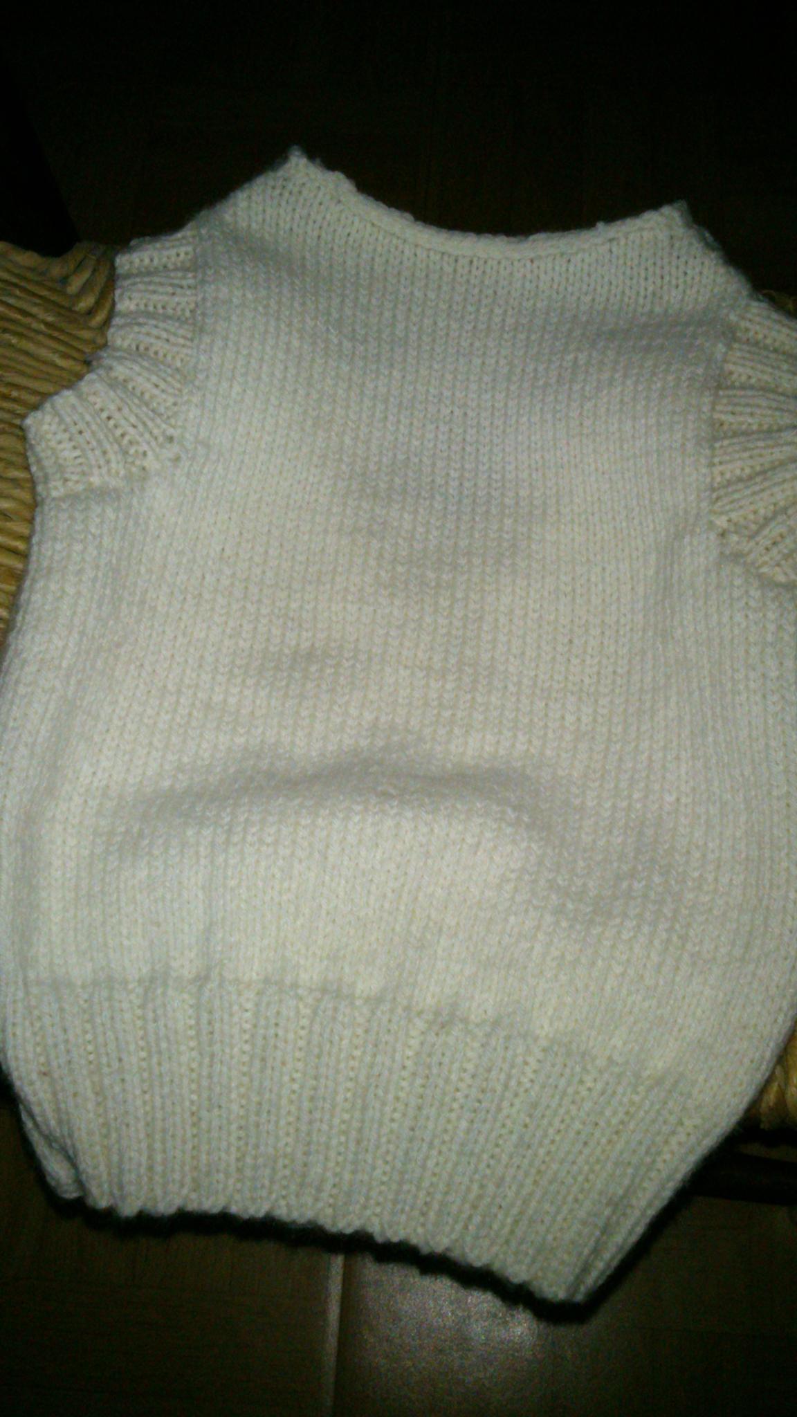 modèle tricot debardeur 2 ans