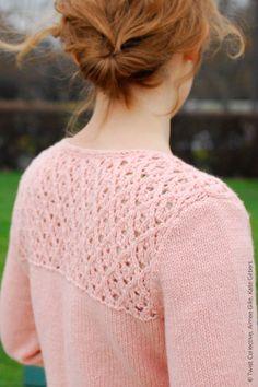 modèle tricot gilet mode