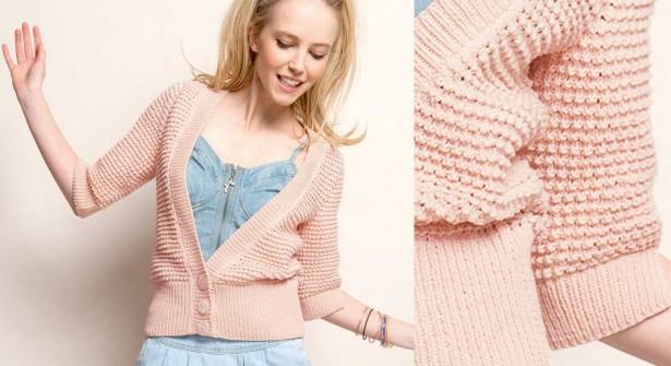 modele tricot gratuit printemps