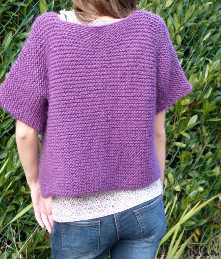 modèle tricot pull tube 3 ans