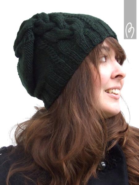 beau modèle tricoter bonnet femme 7bb6d9de741