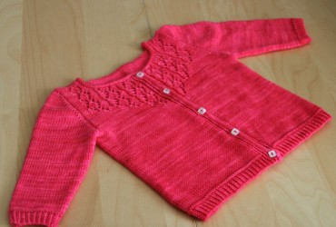 patron tricot pull fille 2 ans