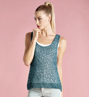 modèle debardeur au tricot gratuit