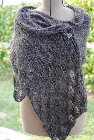 modèle etole tricotee