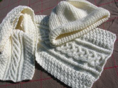 cliché modèle tricot echarpe homme torsade 0105fe4827c