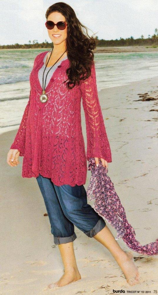 modele tricot grande taille