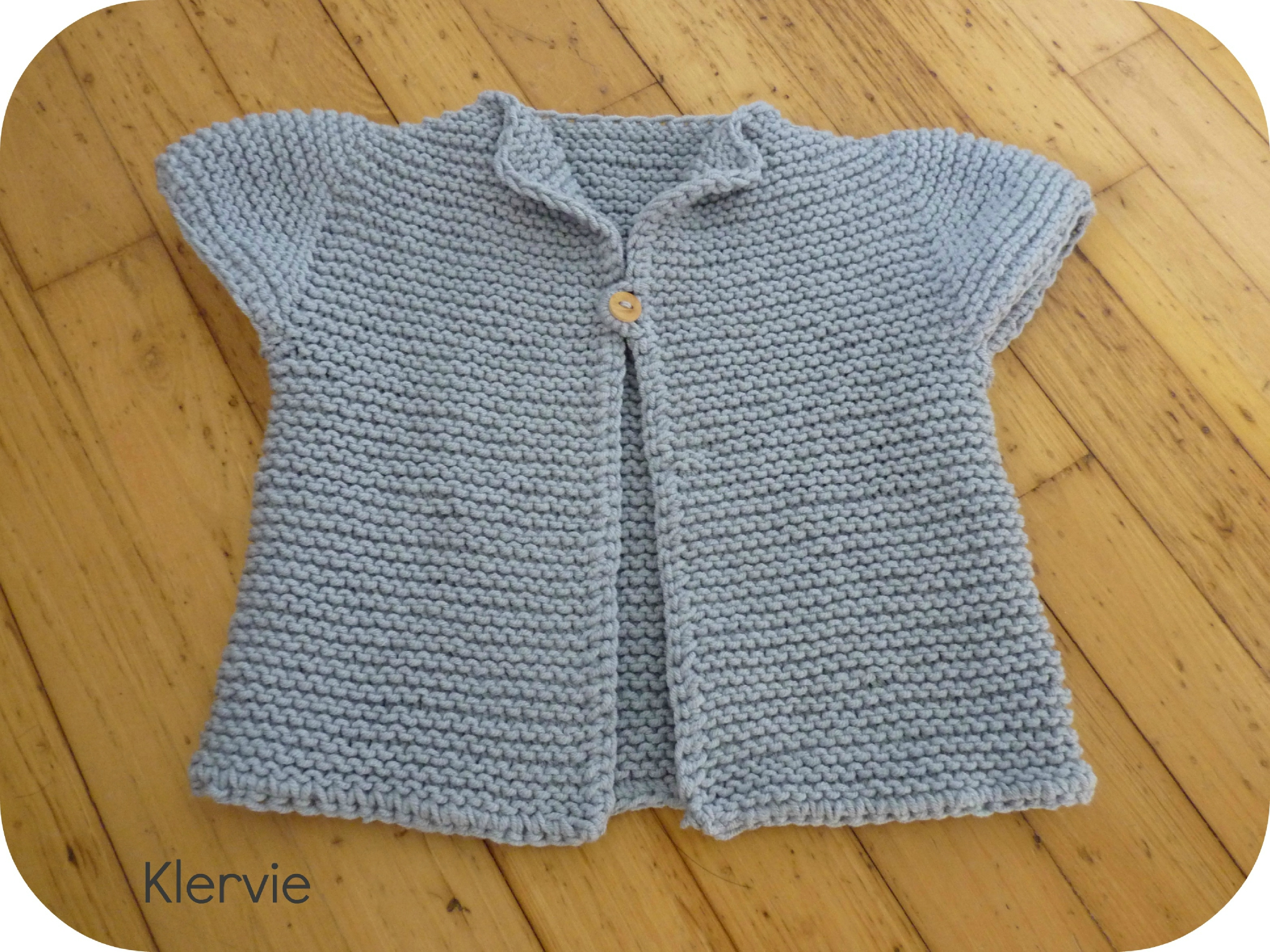 modele tricot robe 24 mois