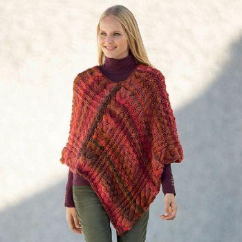 modèle tricoter un poncho