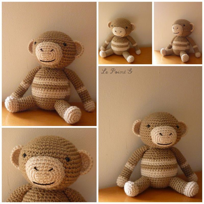 modèle doudou tricot crochet
