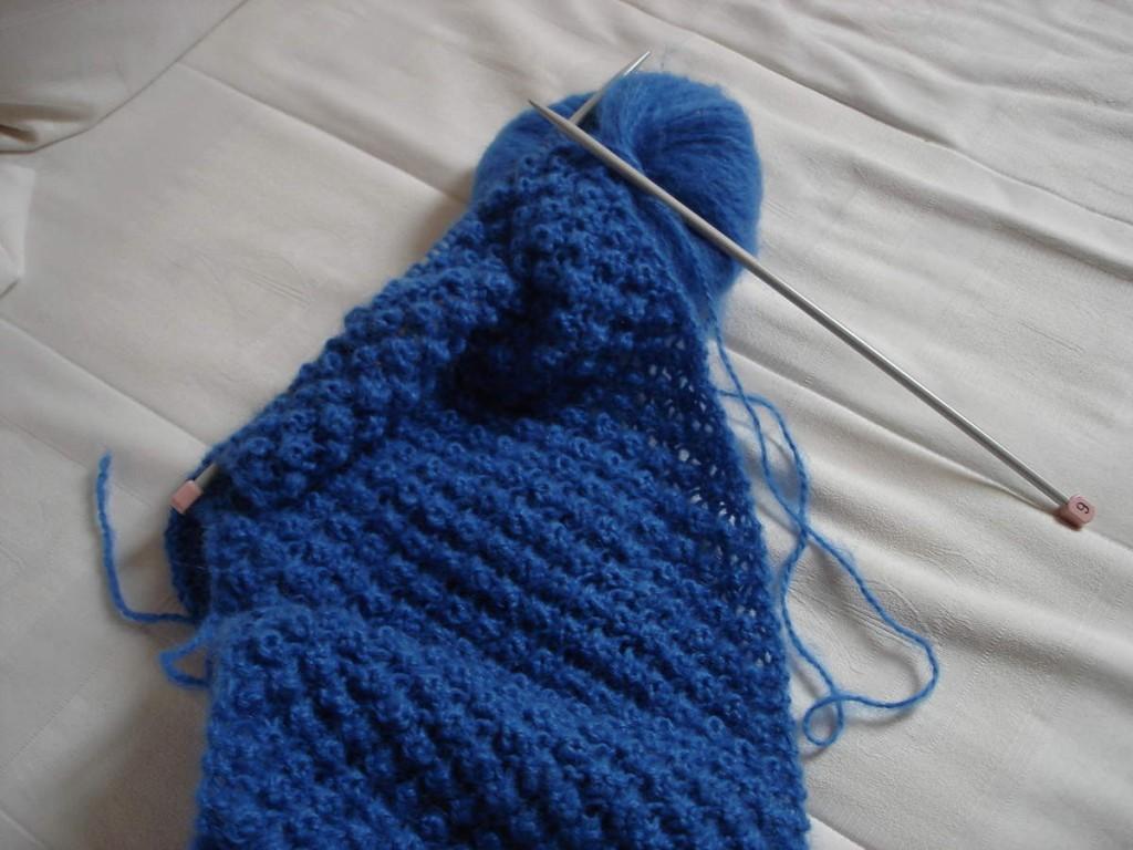 modèle tricot echarpe aiguille 6