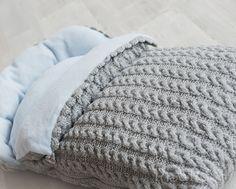 Exemple mod le tricot nid d ange b b - Patron nid d ange bebe gratuit ...