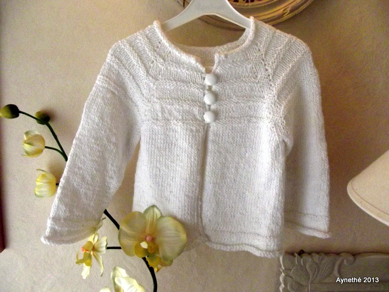 modele tricot top down