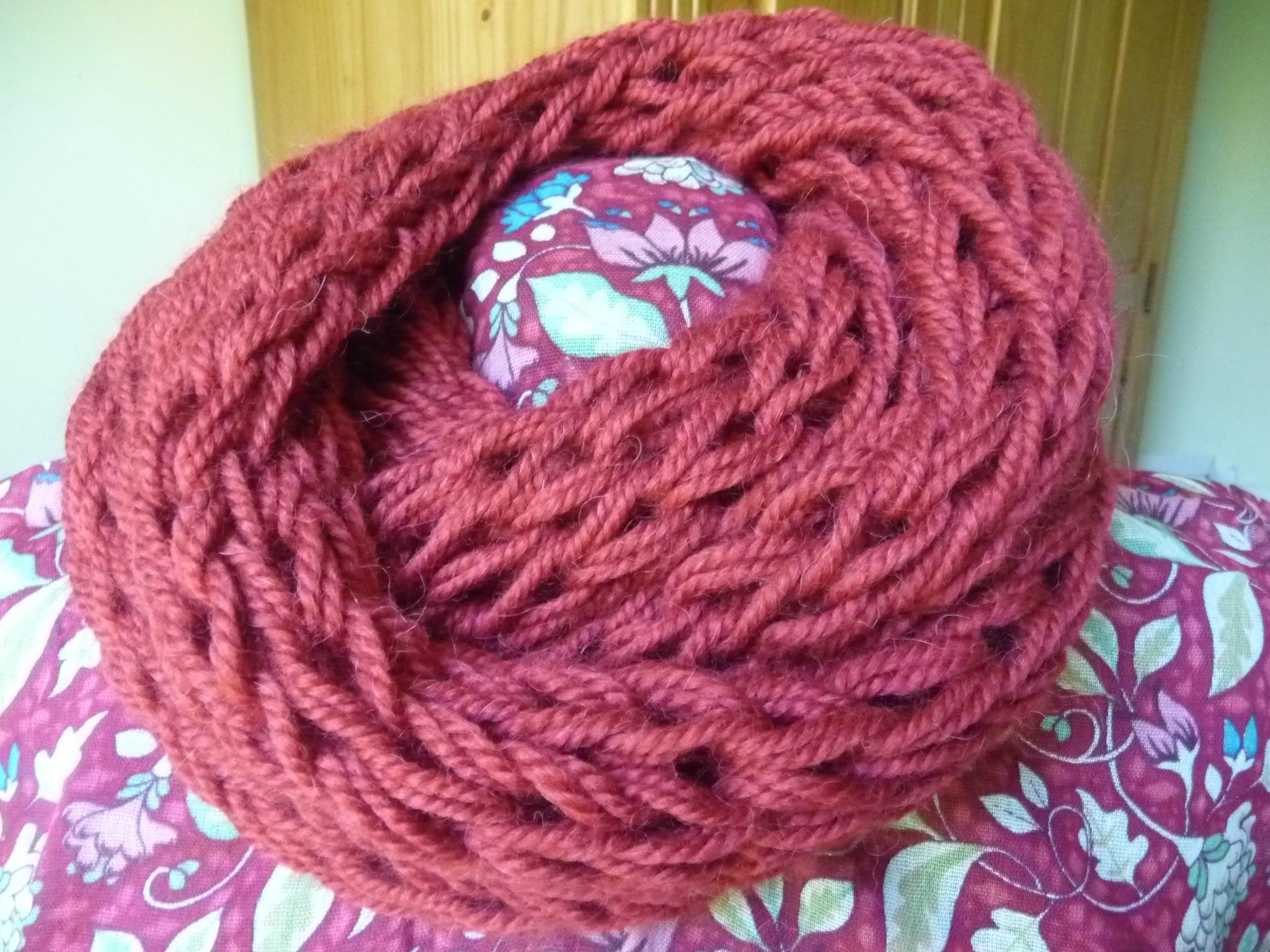 Mod le tricot echarpe aiguille 6 - Tricoter une echarpe grosse maille ...