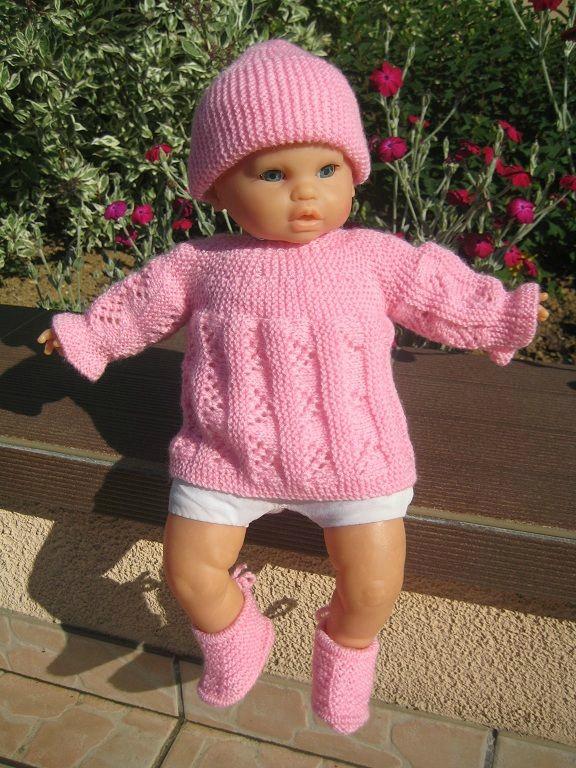 modèle robe tricot pour prema