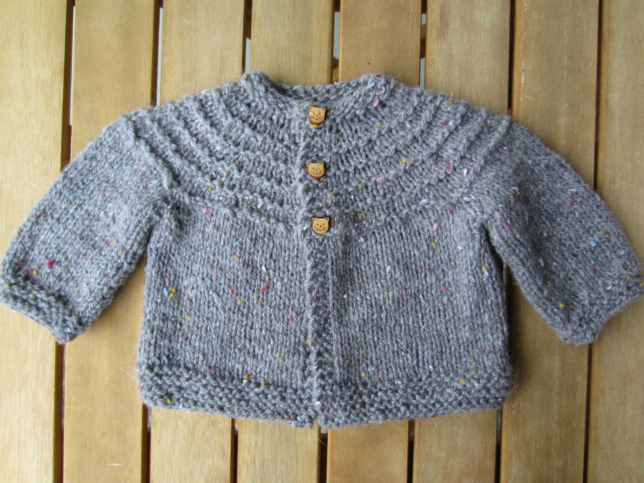 modele tricot bebe fille