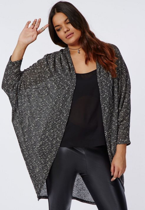 modèle tricot gilet grande taille