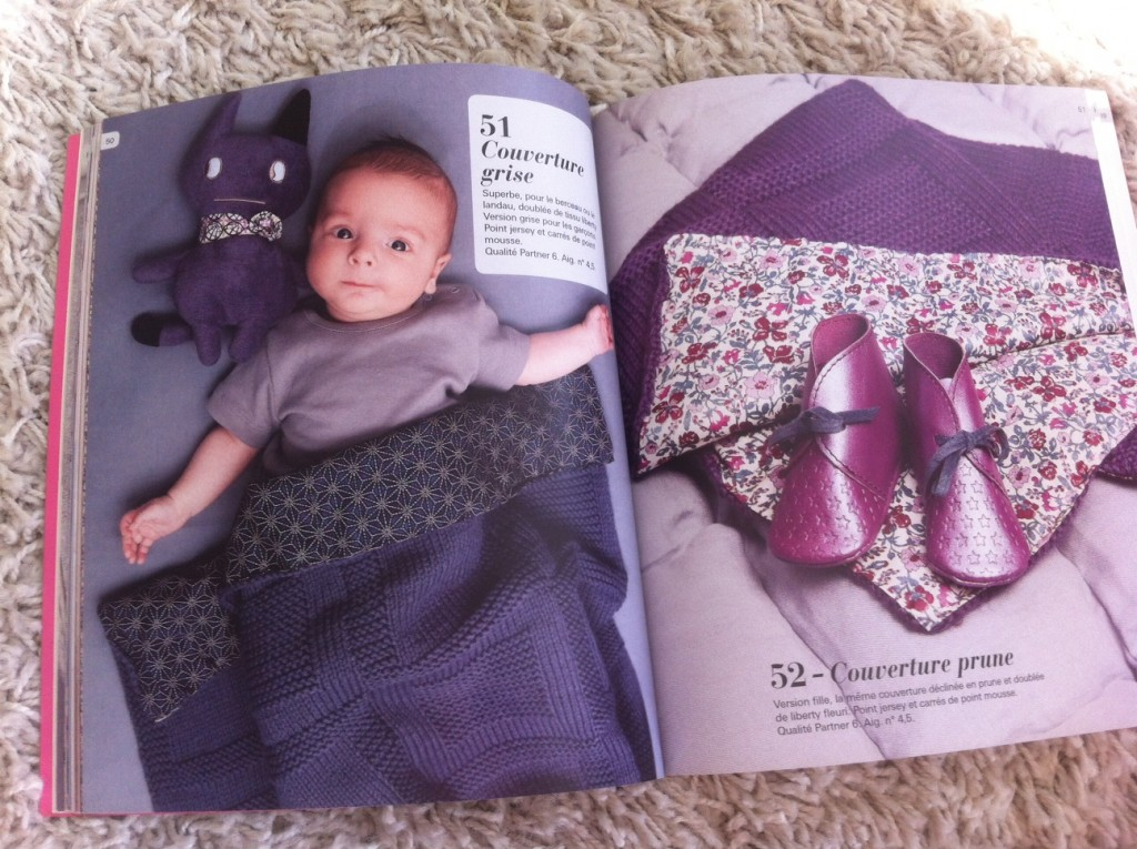 modele tricot layette marie claire