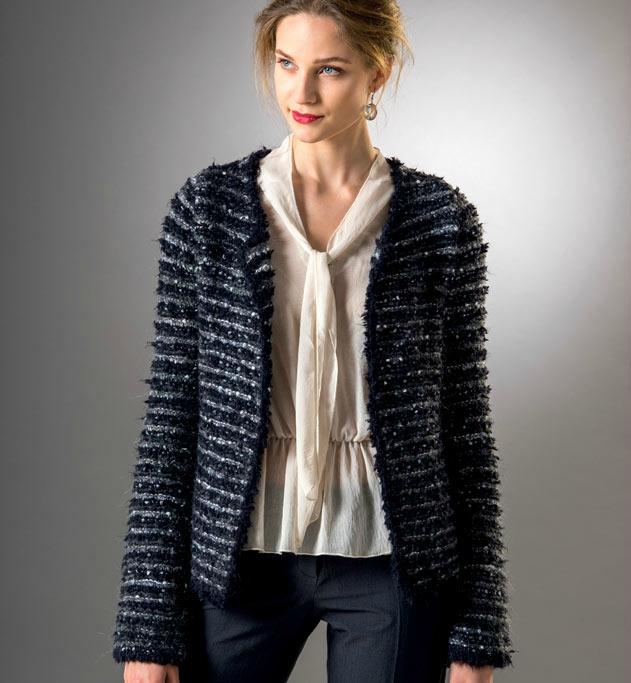 Aiguille Aiguille 5 Tricot Femme Veste Modèle 1Sxqwz