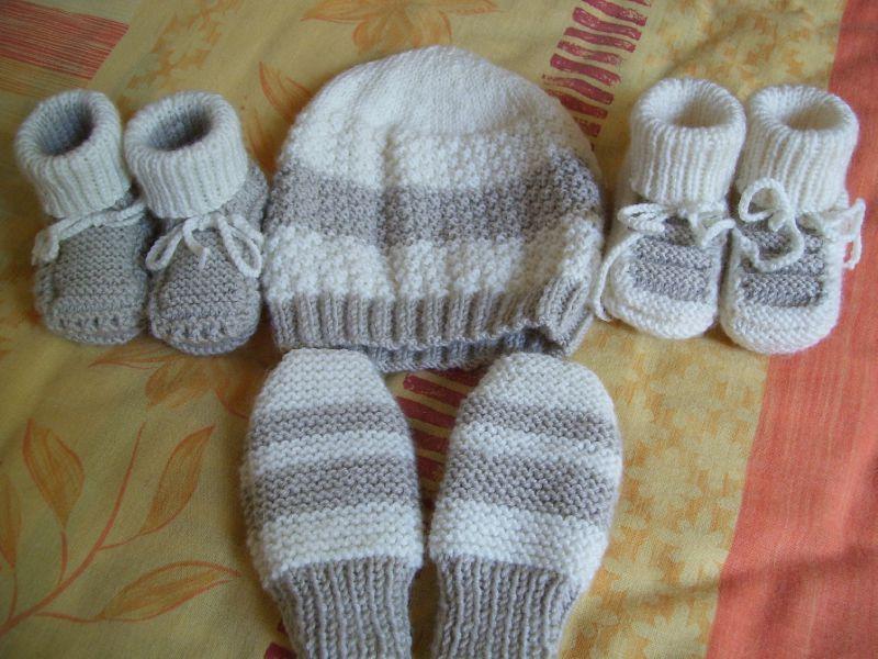 modele tricot bebe aiguille 5