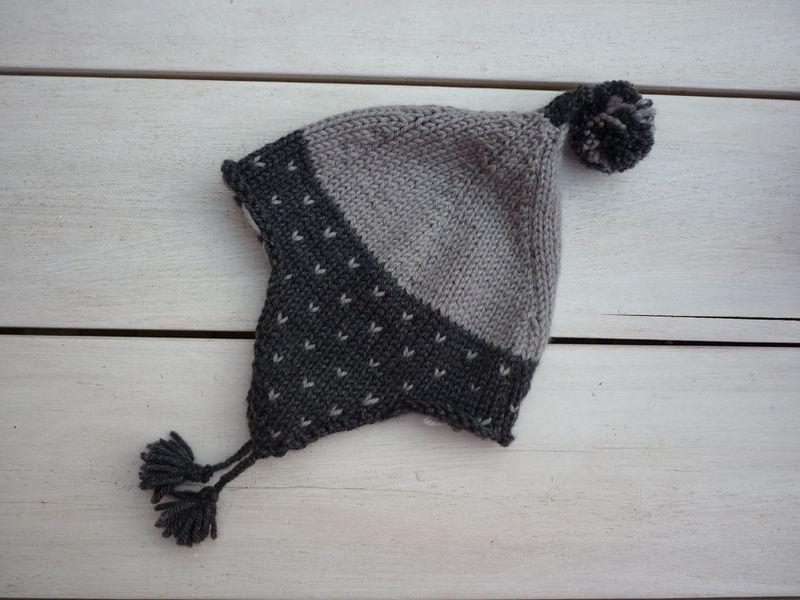 668ea7b0d9d idée modèle tricot bonnet peruvien bébé facile