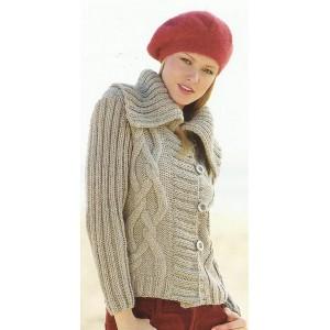 id e mod le tricot veste en laine femme. Black Bedroom Furniture Sets. Home Design Ideas