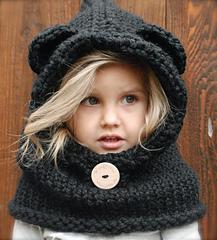 modèle tricot bonnet ours